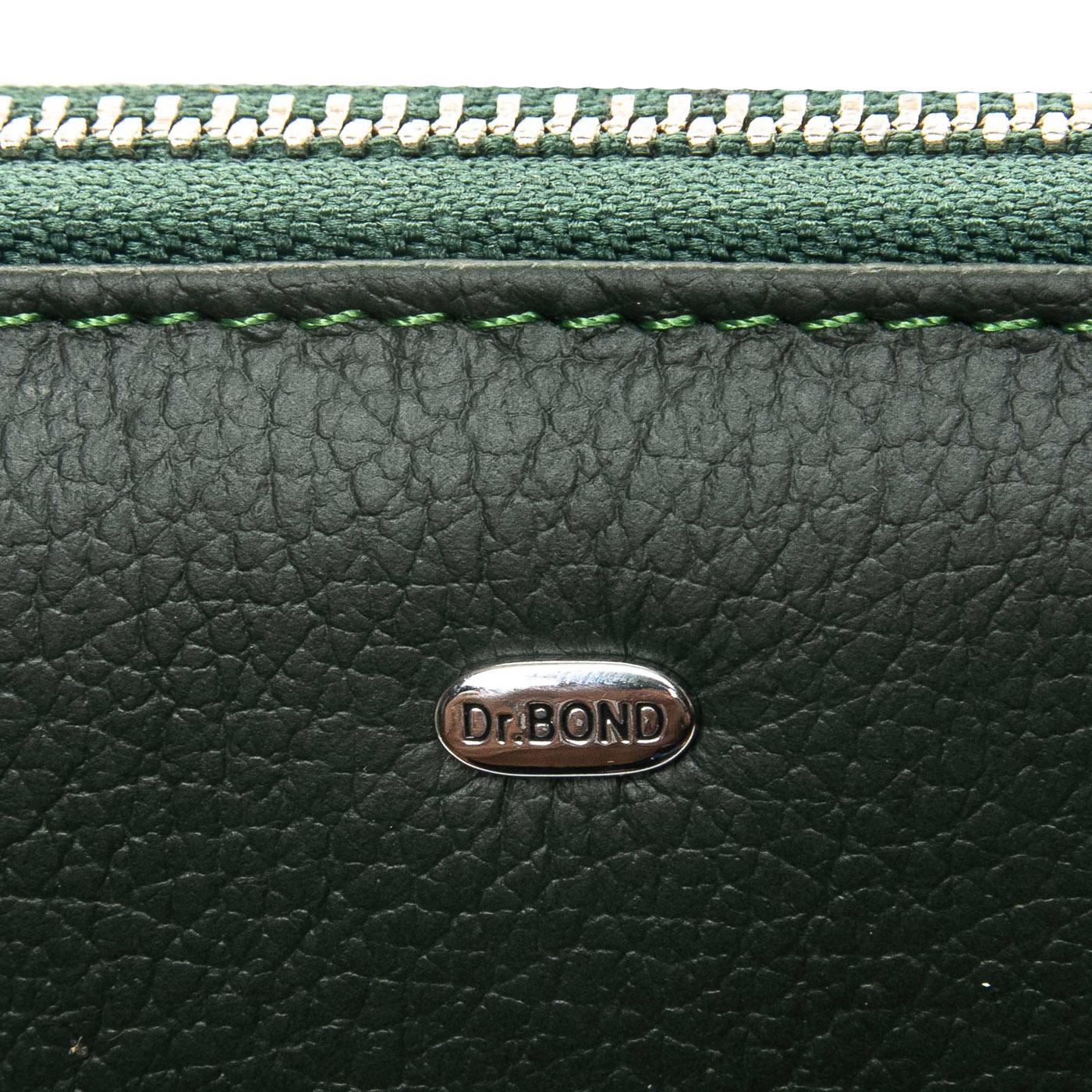 Кошелек Classic кожа DR. BOND WS-8 green - фото 3