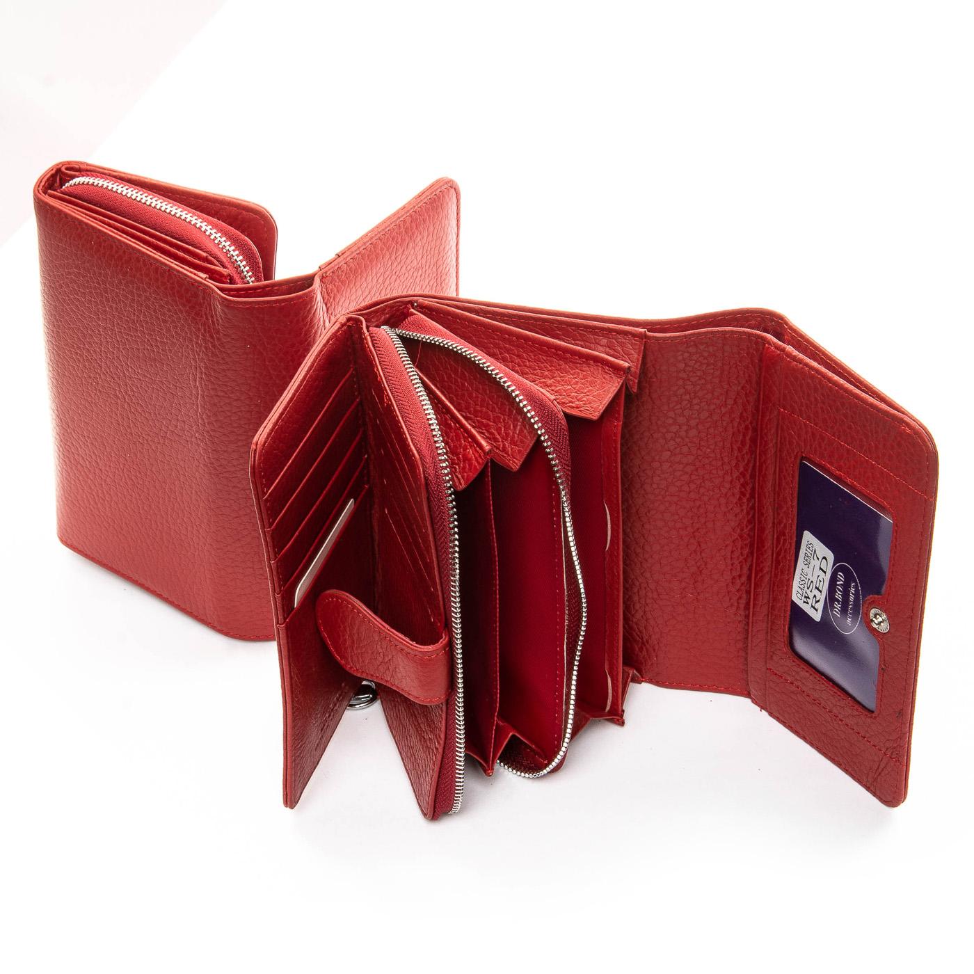 Кошелек Classic кожа DR. BOND WS-7 red - фото 4
