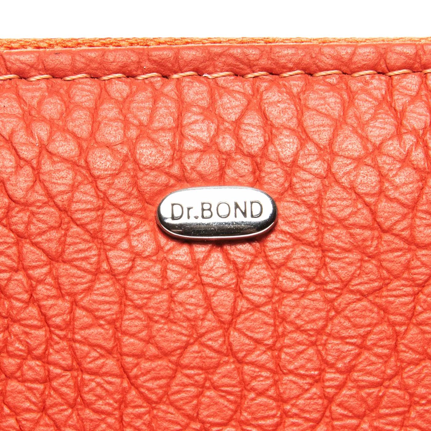 Кошелек Classic кожа DR. BOND WS-2 orange - фото 3