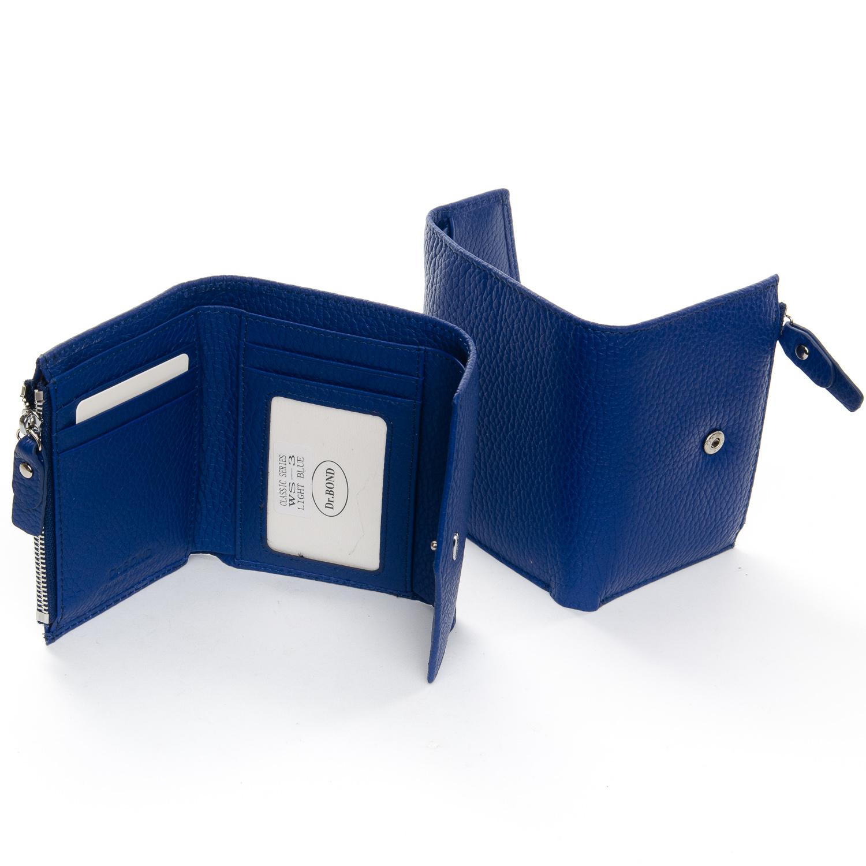 Кошелек Classic кожа DR. BOND WS-3 light-blue - фото 4