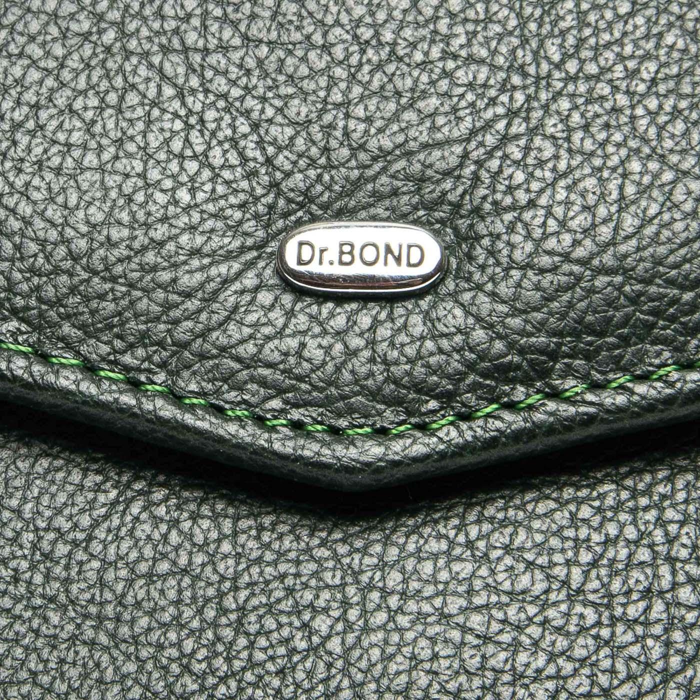Кошелек Classic кожа DR. BOND WS-3 green - фото 3