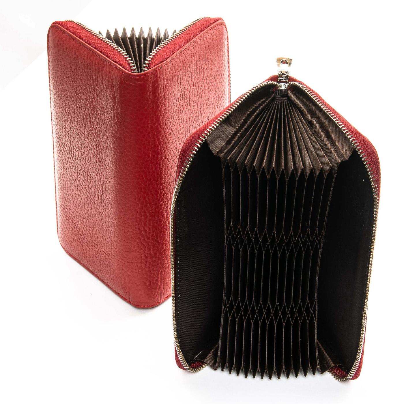 Кошелек Classic кожа DR. BOND WS-8 red - фото 4