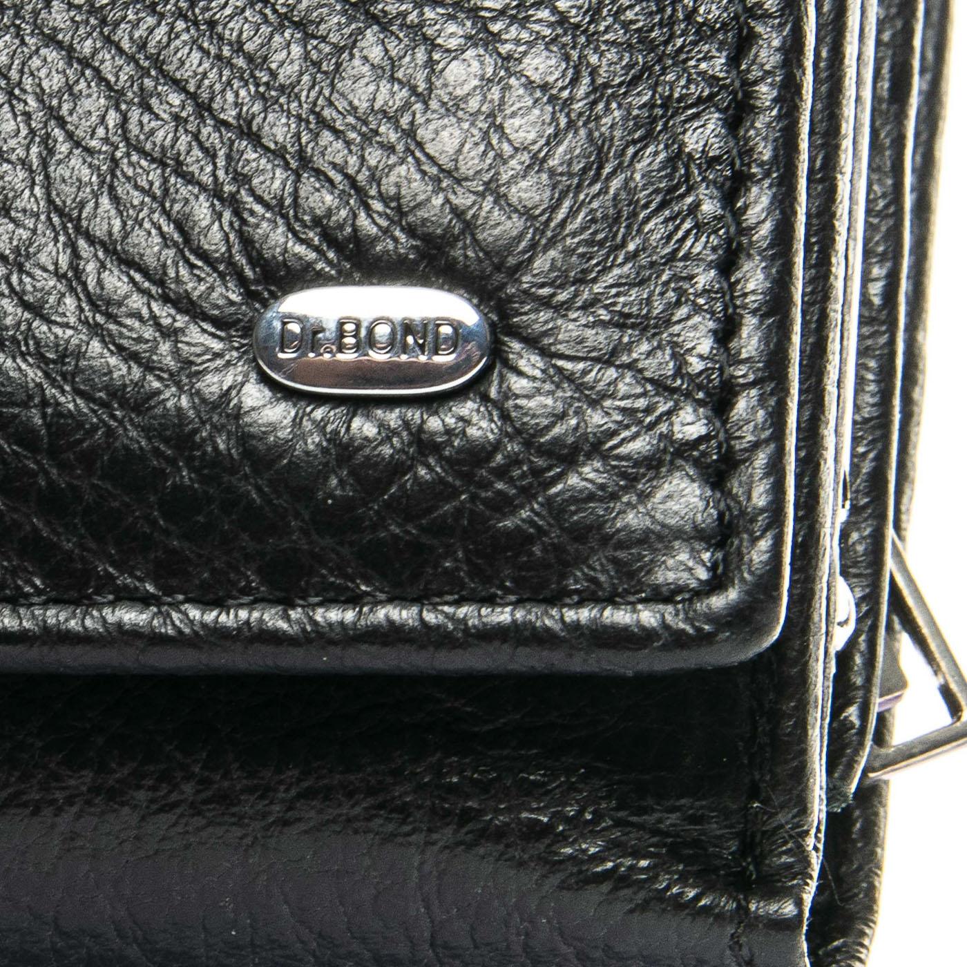 Кошелек Classic кожа DR. BOND WS-10 black - фото 3
