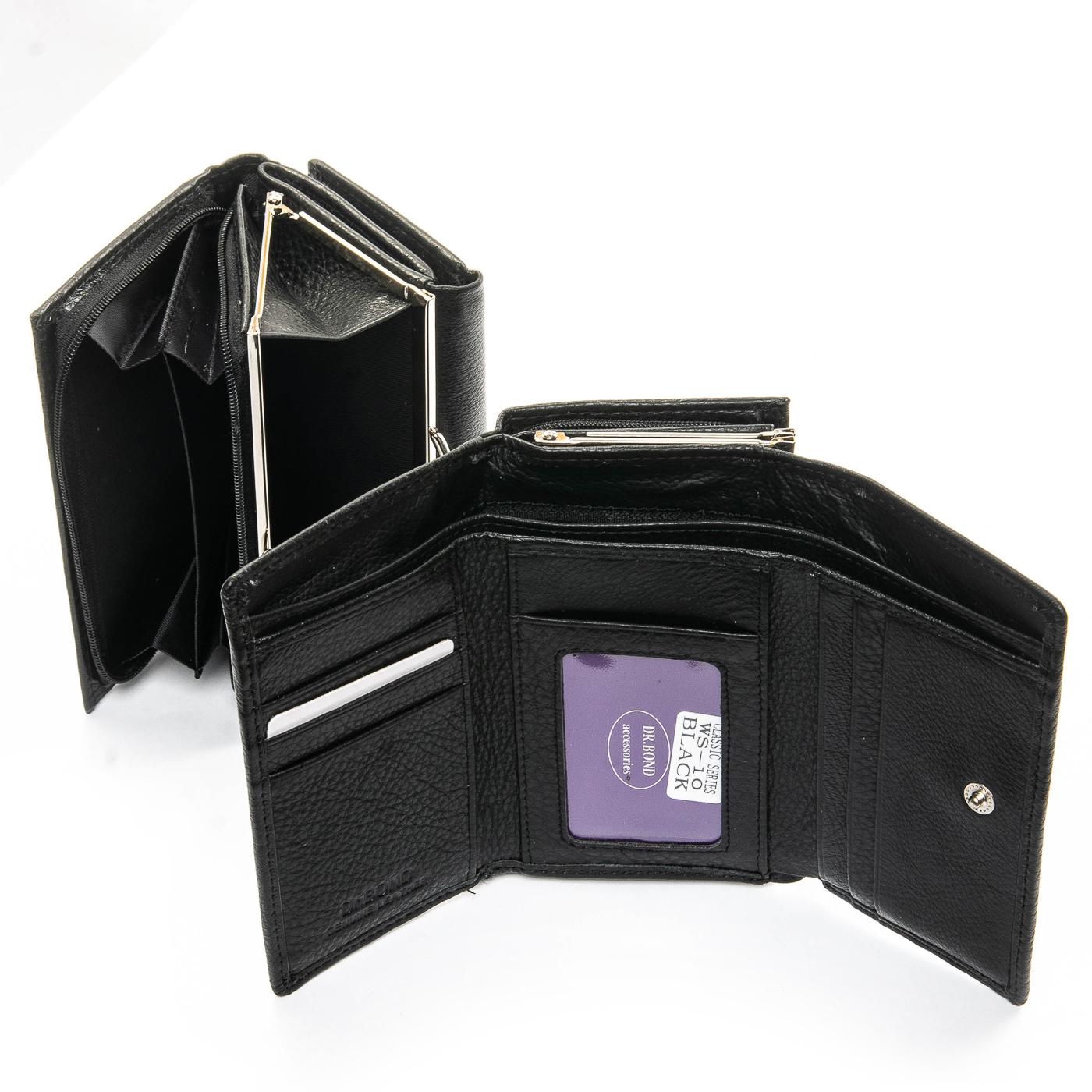 Кошелек Classic кожа DR. BOND WS-10 black - фото 4