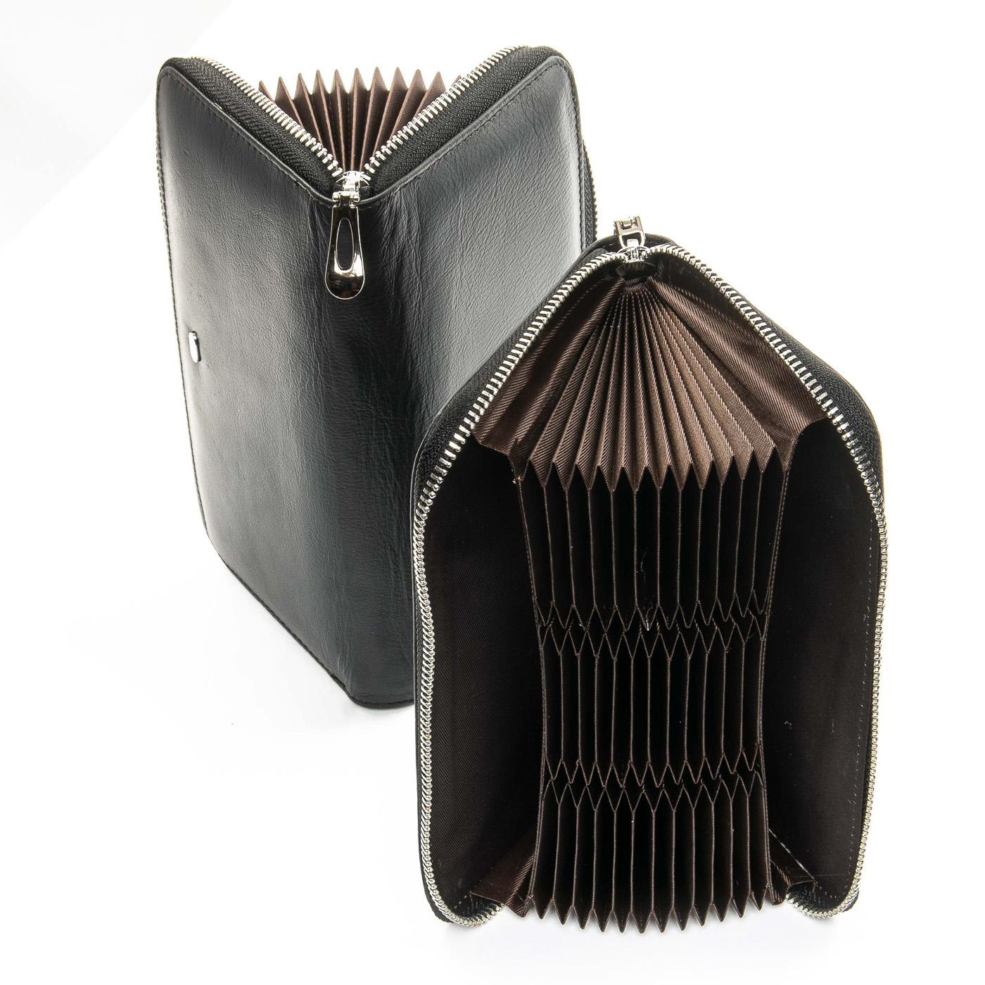 Кошелек Classic кожа DR. BOND WS-8 black - фото 4