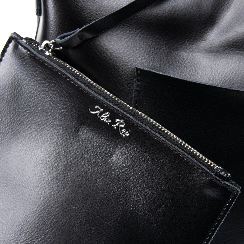Сумка Женская Классическая кожа ALEX RAI 09-3 9322 black - фото 3