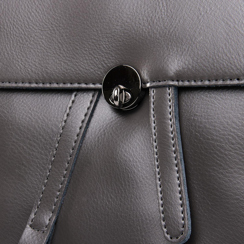 Сумка Женская Рюкзак кожа ALEX RAI 09-3 360 grey - фото 3