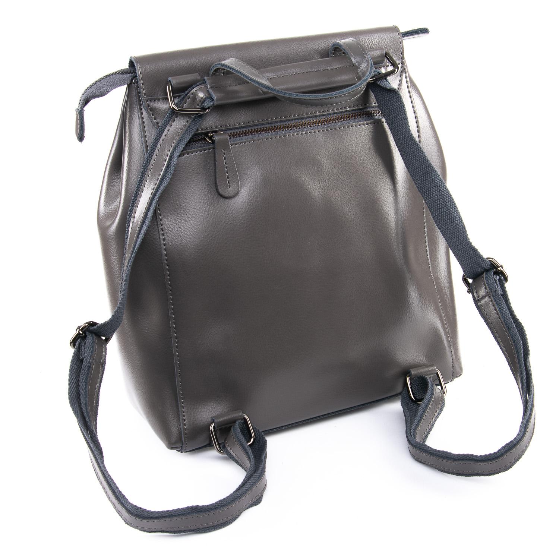 Сумка Женская Рюкзак кожа ALEX RAI 09-3 360 grey - фото 4