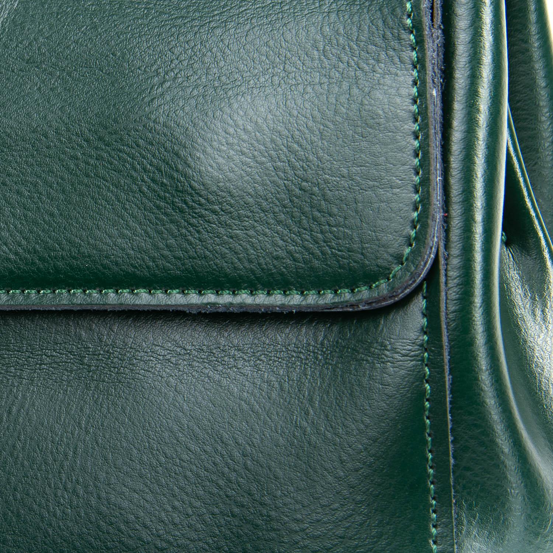 Сумка Женская Классическая кожа ALEX RAI 09-3 9927 green - фото 3