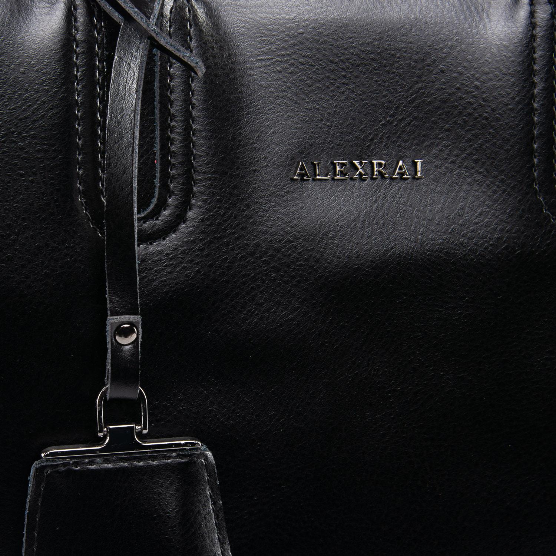 Сумка Женская Классическая кожа ALEX RAI 09-3 8633 black - фото 5