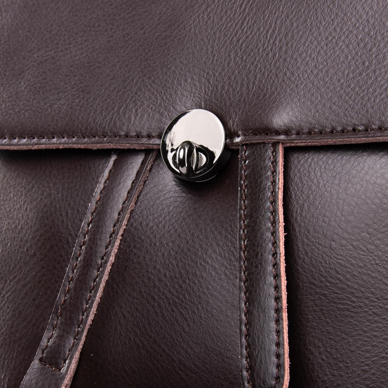 Сумка Женская Рюкзак кожа ALEX RAI 09-3 360 brown - фото 3