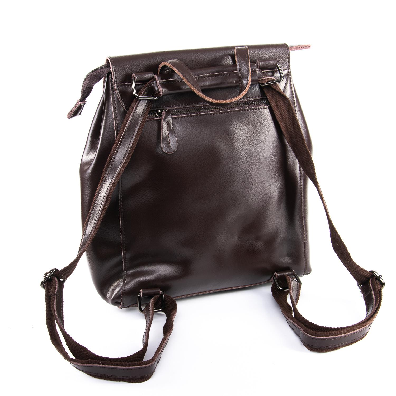 Сумка Женская Рюкзак кожа ALEX RAI 09-3 360 brown - фото 4