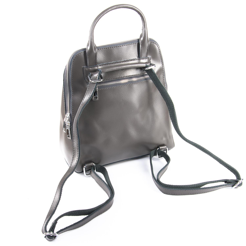 Сумка Женская Рюкзак кожа ALEX RAI 09-3 8778 grey - фото 4