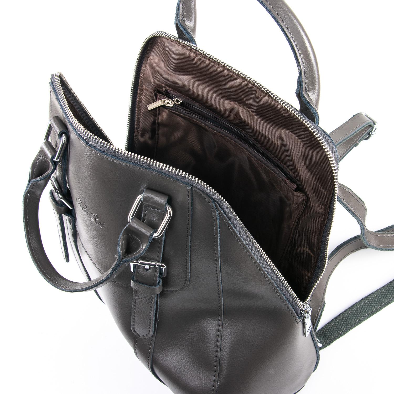 Сумка Женская Рюкзак кожа ALEX RAI 09-3 8778 grey - фото 5