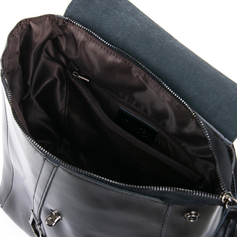 Сумка Женская Рюкзак кожа ALEX RAI 09-3 360 black - фото 5