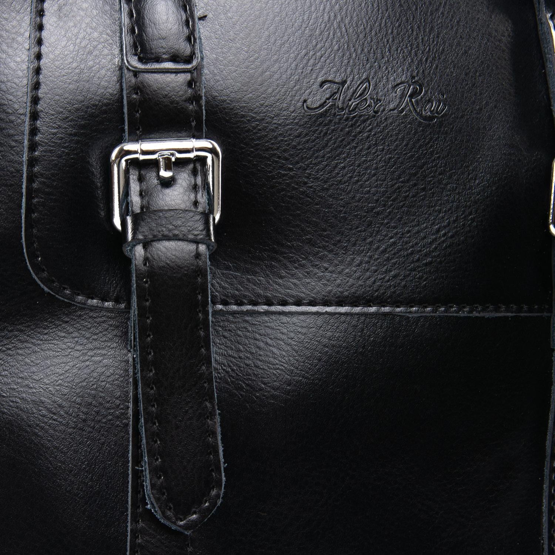 Сумка Женская Рюкзак кожа ALEX RAI 09-3 8778 black - фото 3