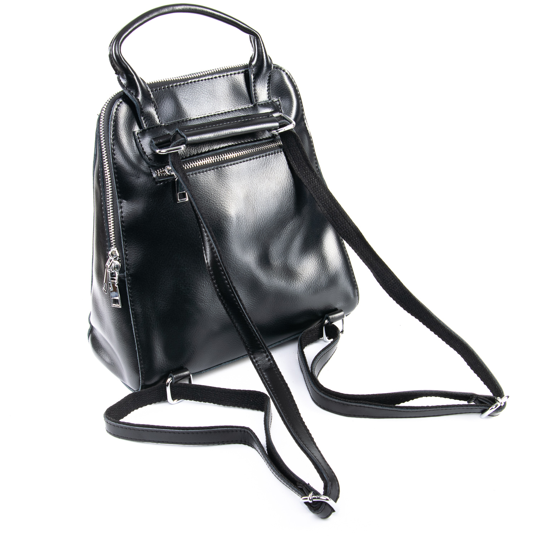 Сумка Женская Рюкзак кожа ALEX RAI 09-3 8778 black - фото 4