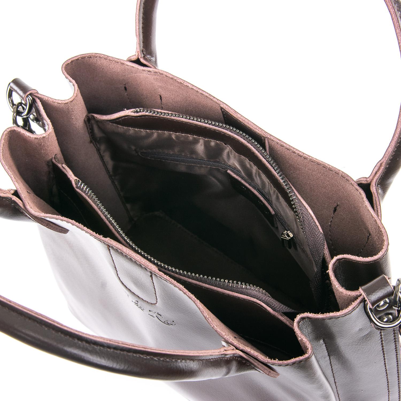 Сумка Женская Классическая кожа ALEX RAI 09-3 8784 brown - фото 5