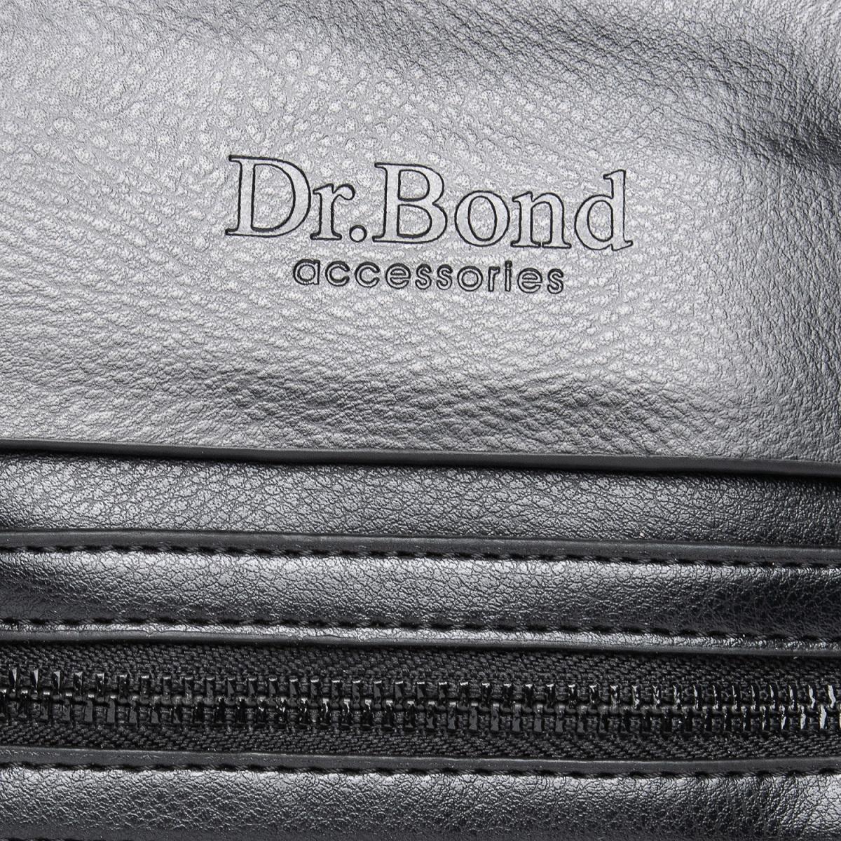 Сумка Мужская Планшет иск-кожа DR. BOND GL 315-2 black - фото 3