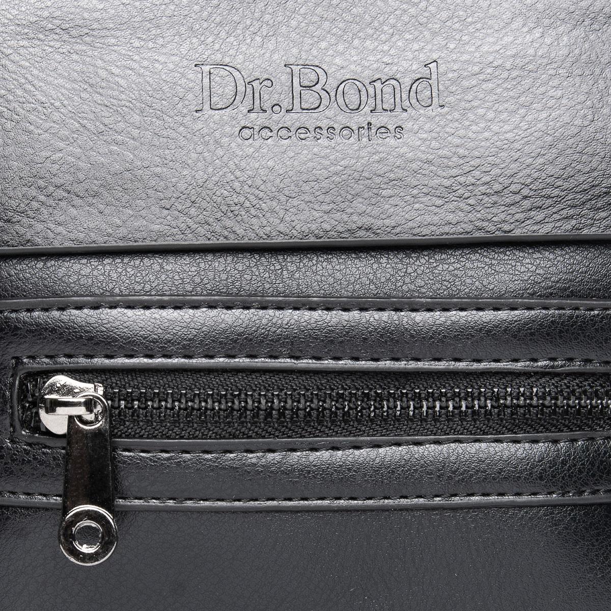 Сумка Мужская Планшет иск-кожа DR. BOND GL 315-0 black - фото 3