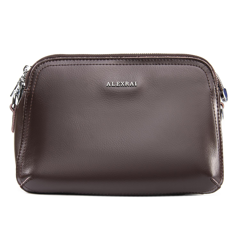 Сумка Женская Классическая кожа ALEX RAI 09-2 8725 brown