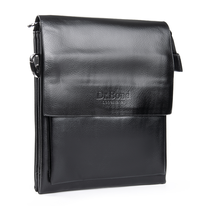 Сумка Мужская Планшет иск-кожа DR. BOND GL 314-2 black