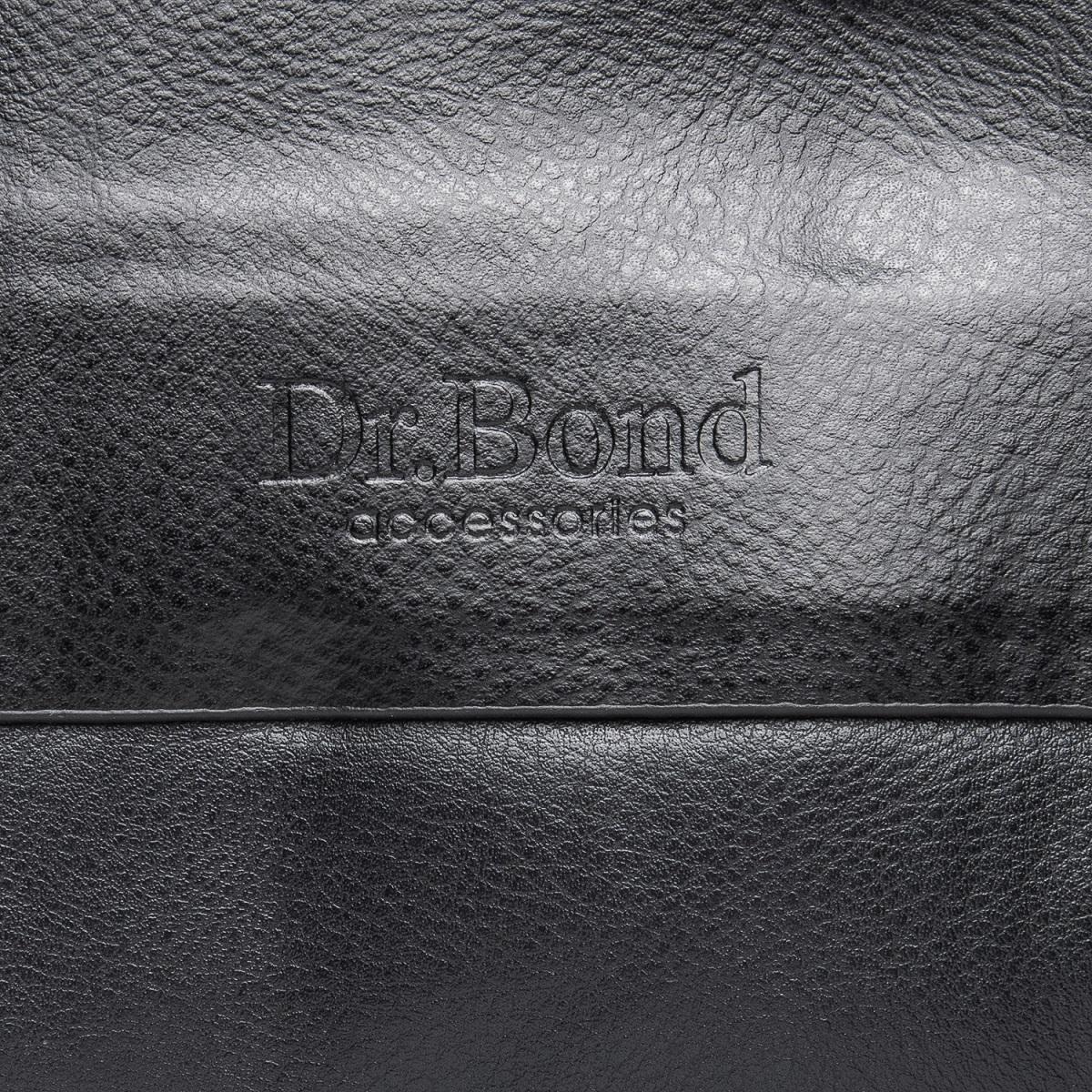 Сумка Мужская Планшет иск-кожа DR. BOND GL 314-2 black - фото 3