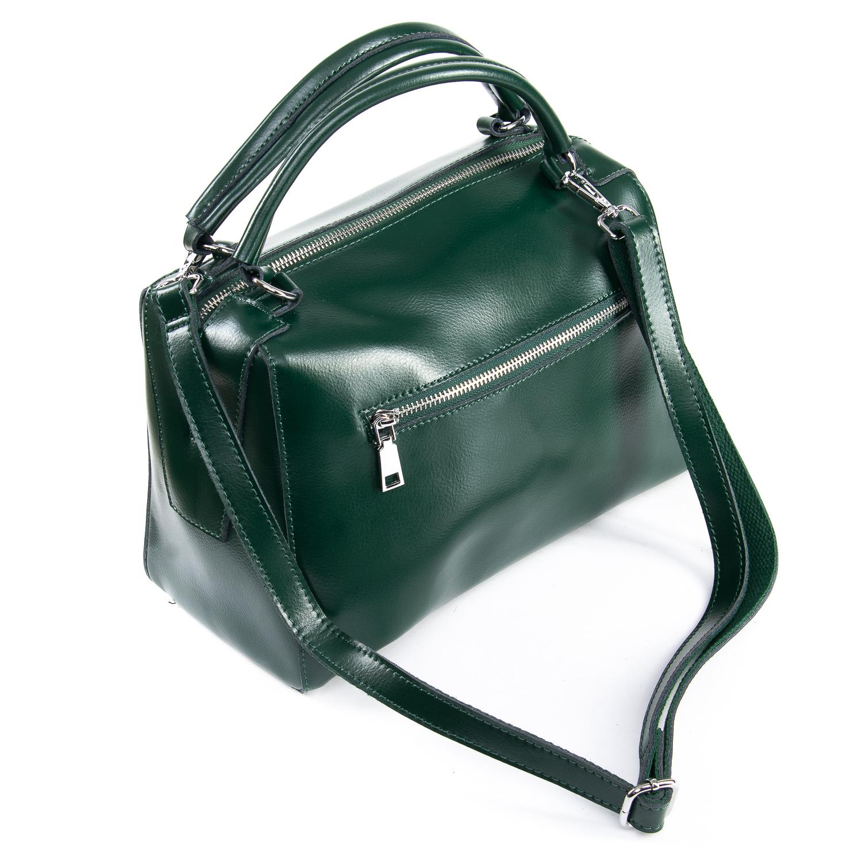 Сумка Женская Классическая кожа ALEX RAI 09-2 8763 green - фото 4