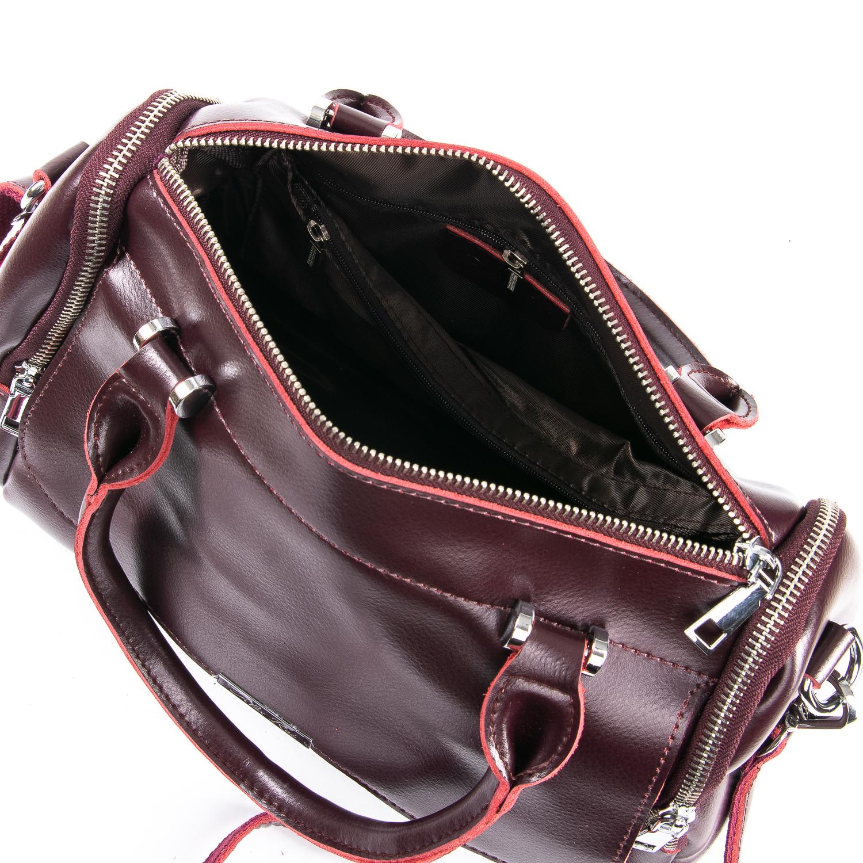 Сумка Женская Классическая кожа ALEX RAI 09-2 2231 burgundy - фото 5