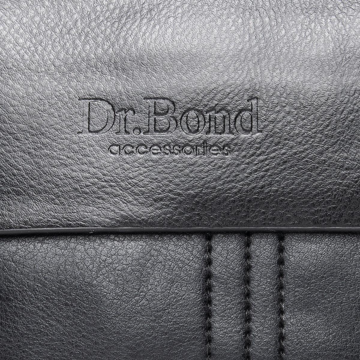Сумка Мужская Планшет иск-кожа DR. BOND GL 305-0 black - фото 3