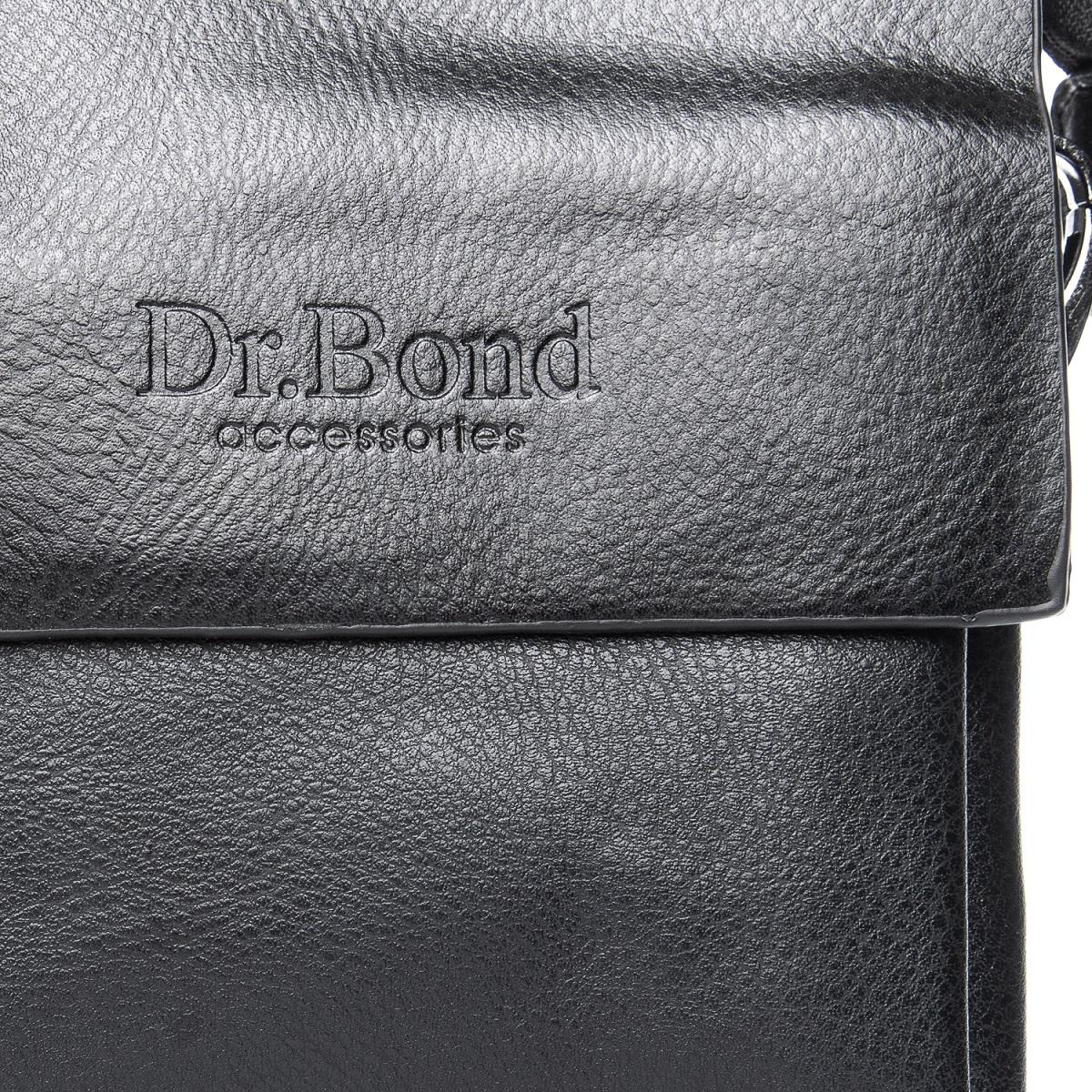 Сумка Мужская Планшет иск-кожа DR. BOND GL 314-0 black - фото 3
