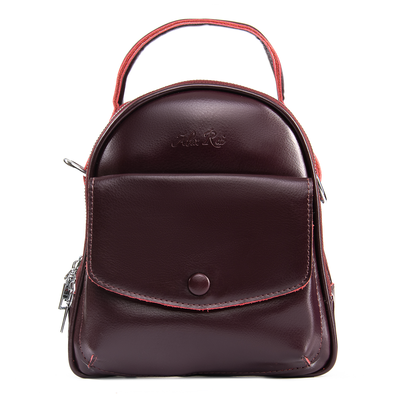 Сумка Женская Классическая кожа ALEX RAI 09-2 2229-220 burgundy