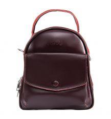 Сумка Женская Рюкзак кожа ALEX RAI 09-2 2229-220 burgundy