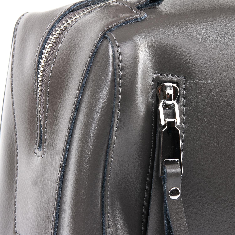 Сумка Женская Классическая кожа ALEX RAI 09-2 8763 grey - фото 3
