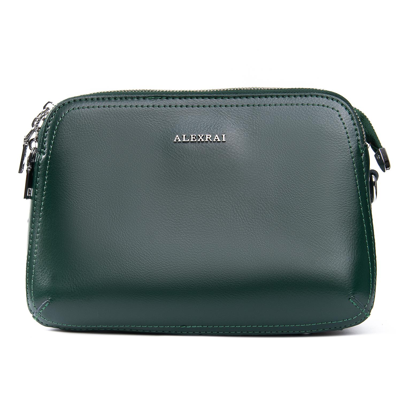 Сумка Женская Классическая кожа ALEX RAI 09-2 8725 green