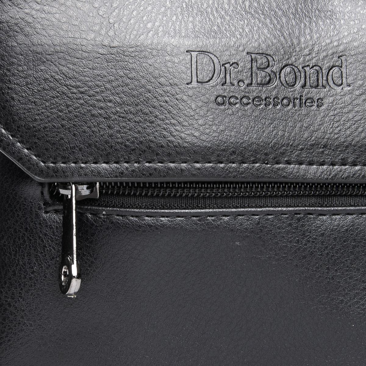 Сумка Мужская Планшет иск-кожа DR. BOND GL 213-1 black - фото 3