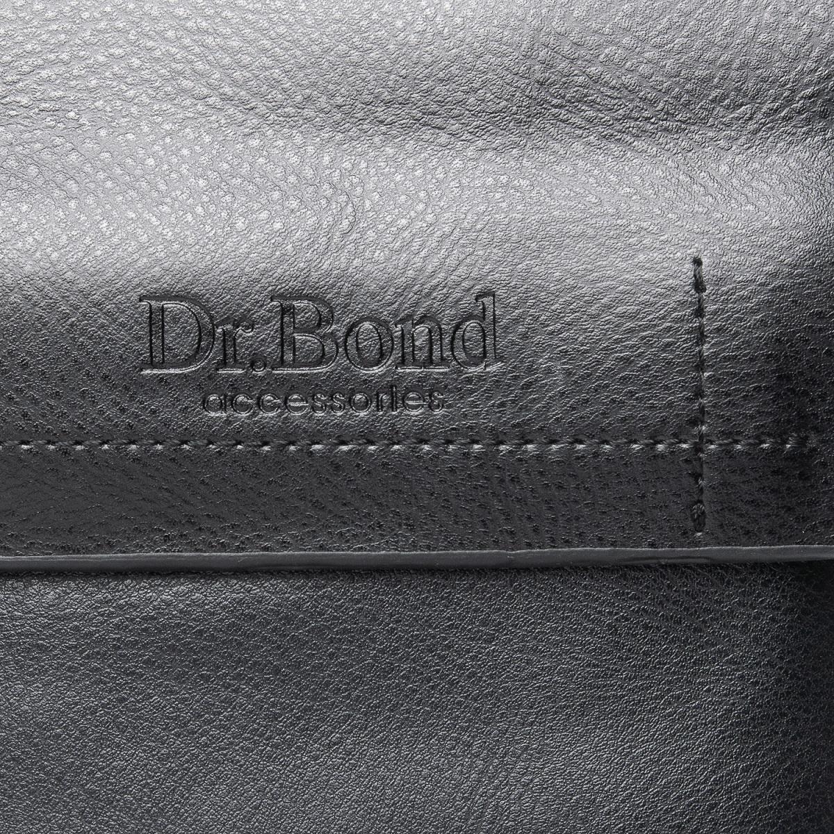 Сумка Мужская Планшет иск-кожа DR. BOND GL 206-0 black - фото 5
