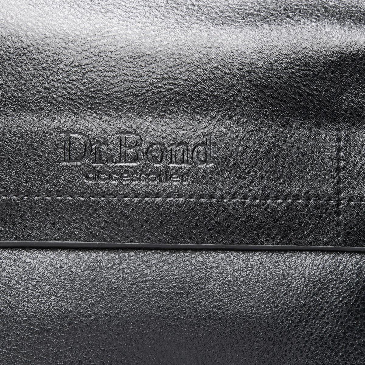 Сумка Мужская Планшет иск-кожа DR. BOND GL 206-2 black - фото 3