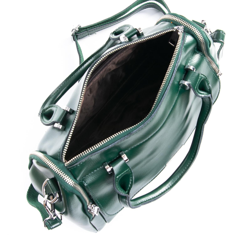 Сумка Женская Классическая кожа ALEX RAI 09-2 2231 green - фото 4