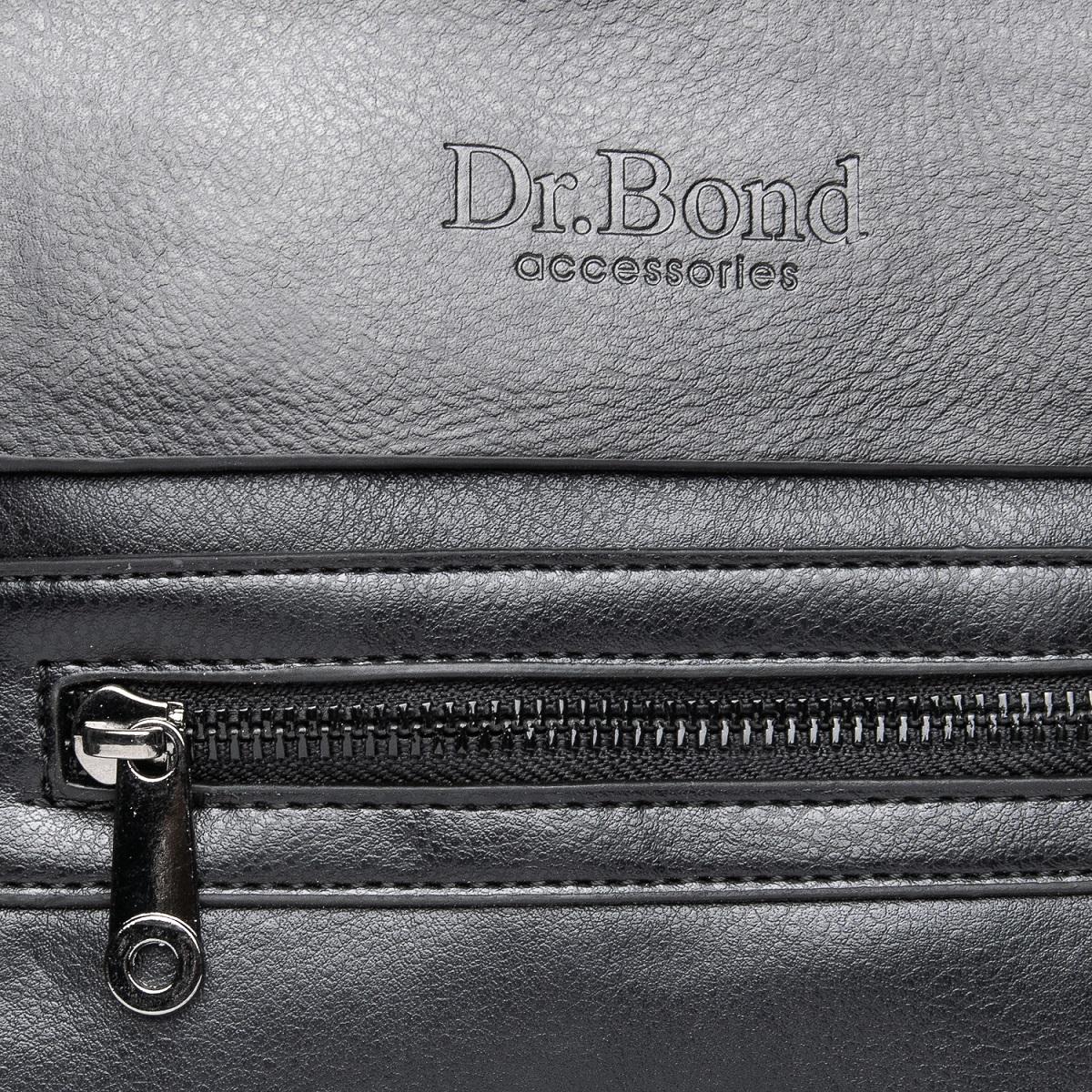 Сумка Мужская Планшет иск-кожа DR. BOND GL 315-1 black - фото 3