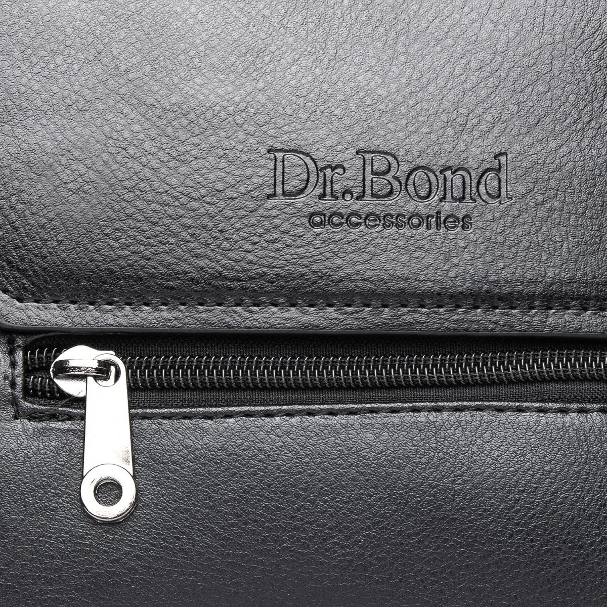 Сумка Мужская Планшет иск-кожа DR. BOND GL 213-2 black - фото 3