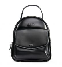 Сумка Женская Рюкзак кожа ALEX RAI 09-2 2229-220 black