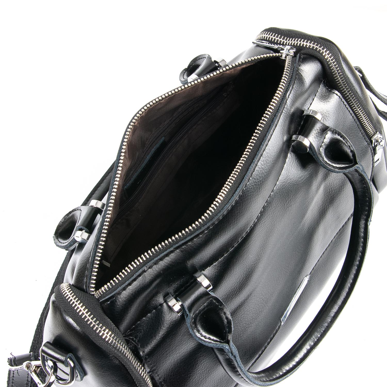 Сумка Женская Классическая кожа ALEX RAI 09-2 2231 black - фото 5