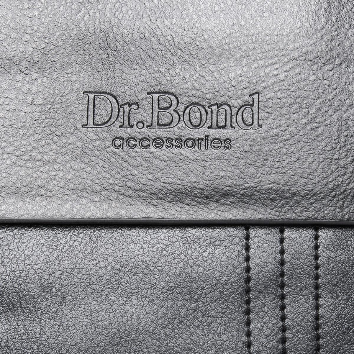 Сумка Мужская Планшет иск-кожа DR. BOND GL 305-1 black - фото 3