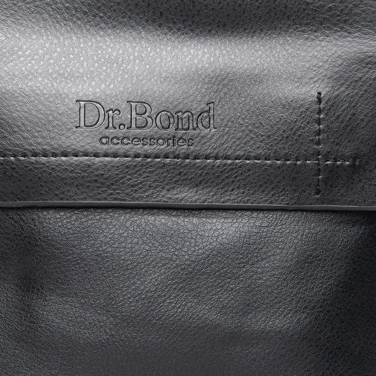 Сумка Мужская Планшет иск-кожа DR. BOND GL 206-1 black - фото 3