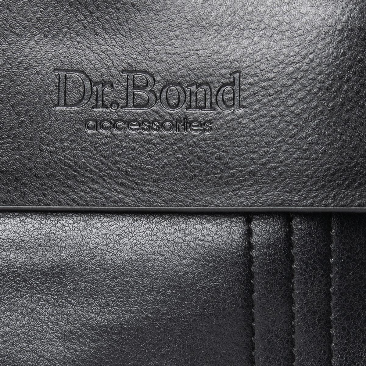 Сумка Мужская Планшет иск-кожа DR. BOND GL 305-2 black - фото 3