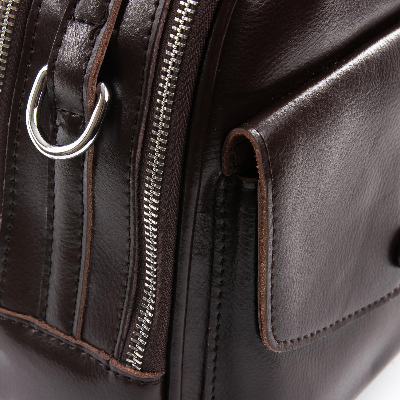 Сумка Женская Классическая кожа ALEX RAI 09-2 2229-220 brown - фото 3