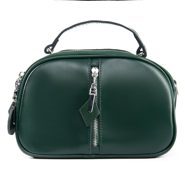 Сумка Женская Классическая кожа ALEX RAI 09-2 8389 green