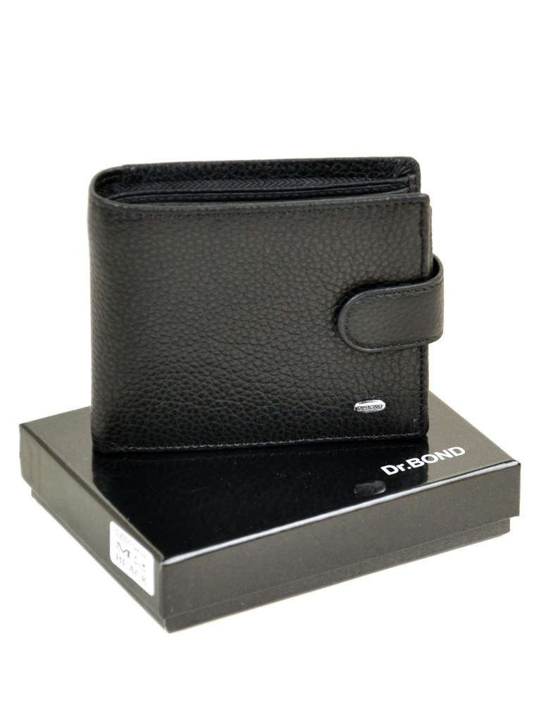 Кошелек Classic кожа DR. BOND RFID M2-1 black