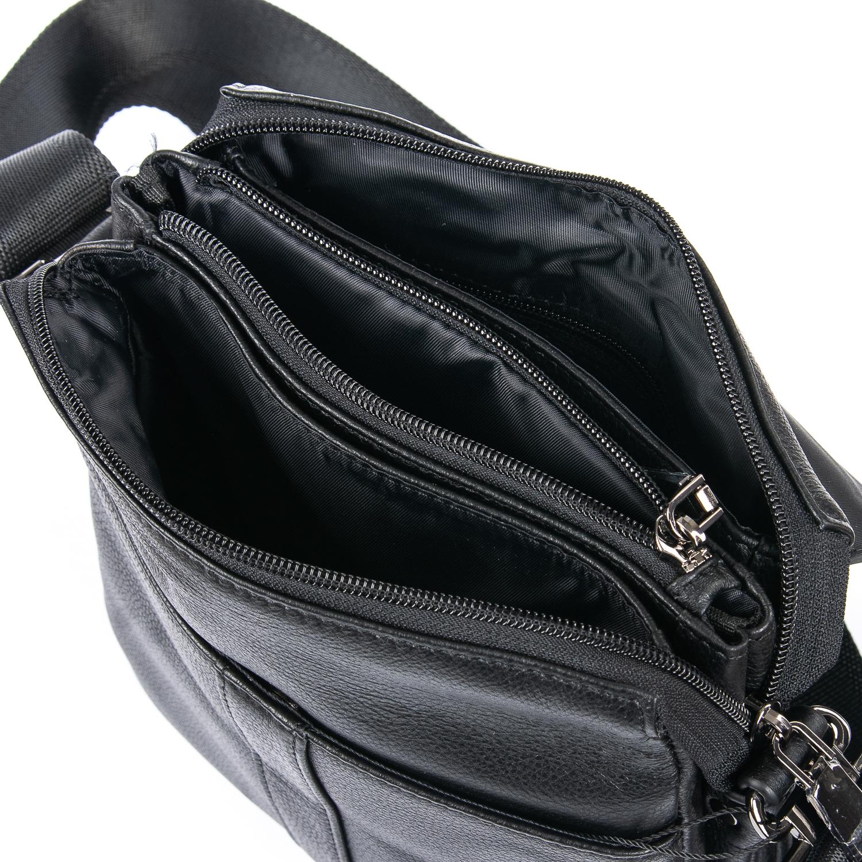 Сумка Мужская Планшет кожаный BRETTON BE 3387-4 black - фото 4